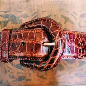NEW Ralph Lauren Genuine Alligator Belt